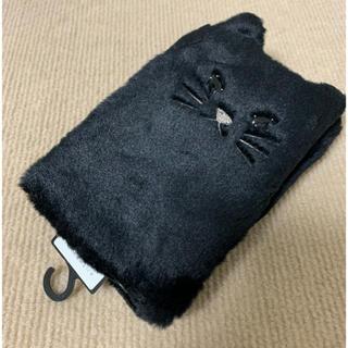アンテプリマ(ANTEPRIMA)のアンテプリマ手袋(ブラック/ネコ🐱)(手袋)