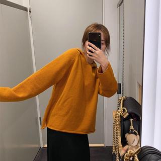 オレンジ🍊古着感セーター (ニット/セーター)