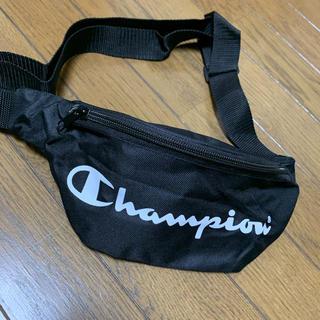 チャンピオン(Champion)の【champion】非売品ウエストポーチ ショルダーバッグ(ウエストポーチ)