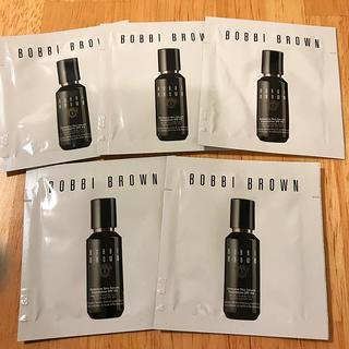 ボビイブラウン(BOBBI BROWN)のボビイブラウン インテンシブスキンセラム ファンデーション 5包サンプルセット(サンプル/トライアルキット)