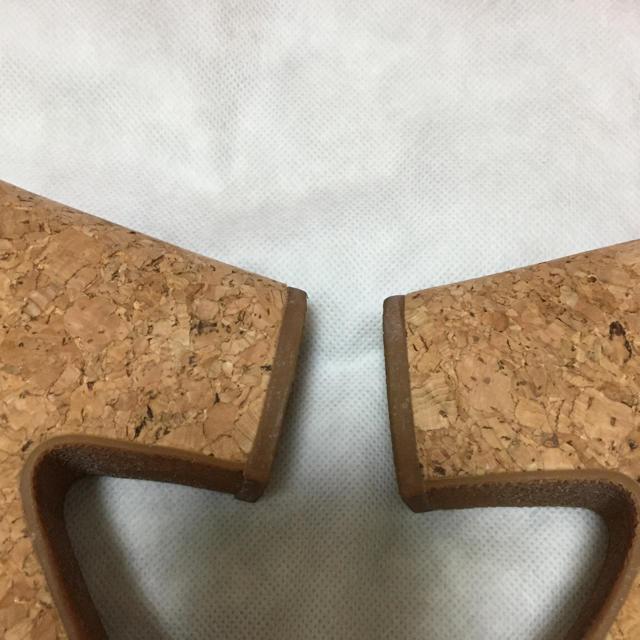 ORiental TRaffic(オリエンタルトラフィック)のORiental TRaffic サンダル ウェッジソール ブラック 黒Lサイズ レディースの靴/シューズ(サンダル)の商品写真