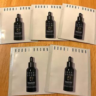 ボビイブラウン(BOBBI BROWN)のボビイブラウン インテンシブスキンセラム ファンデーション サンプル5包セット(サンプル/トライアルキット)
