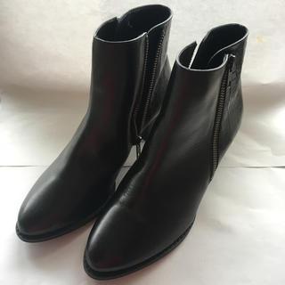 BARCLAY - Barclay 本革 ショート ブーツ