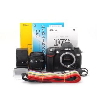 ニコン(Nikon)の★S数8153回★届いたその日から撮影可能♪Nikon D70 レンズキット♪(デジタル一眼)