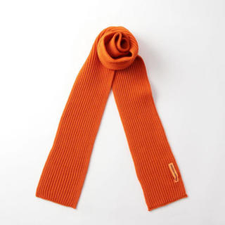 ユナイテッドアローズ(UNITED ARROWS)のANDERSEN-ANDERSEN SCARF 5GG スカーフ オレンジ(マフラー)