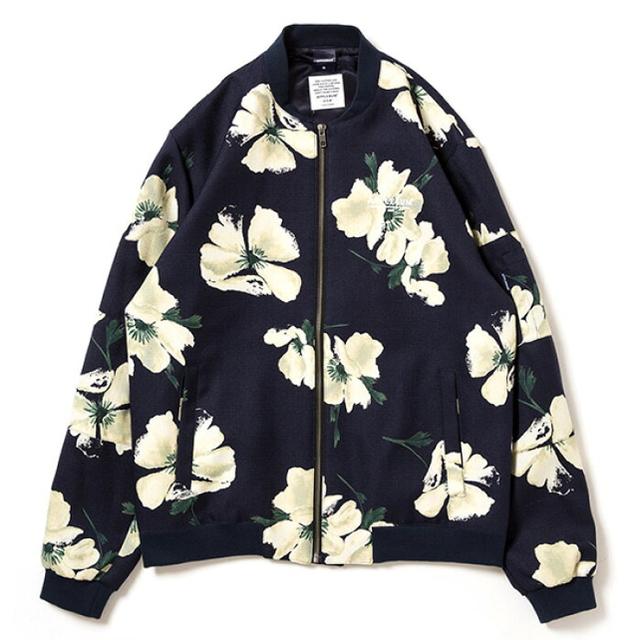 APPLEBUM(アップルバム)のapplebum MA-1 ジャケット花柄 メンズのジャケット/アウター(ブルゾン)の商品写真