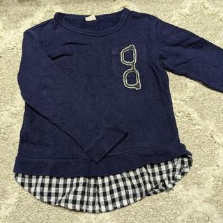 プティマイン(petit main)のプティマイン☆男女兼用トレーナートップス☆ サイズ110(Tシャツ/カットソー)