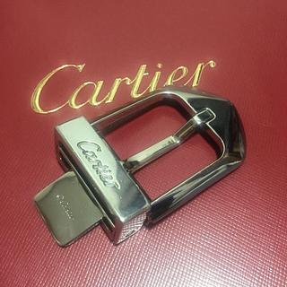 カルティエ(Cartier)の【正規品】Cartier ユニセックスベルト バックルのみ(L5000184)(ベルト)