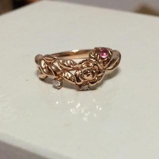 シンシアローリー(Cynthia Rowley)のk10ピンクゴールド リング 指輪(リング(指輪))