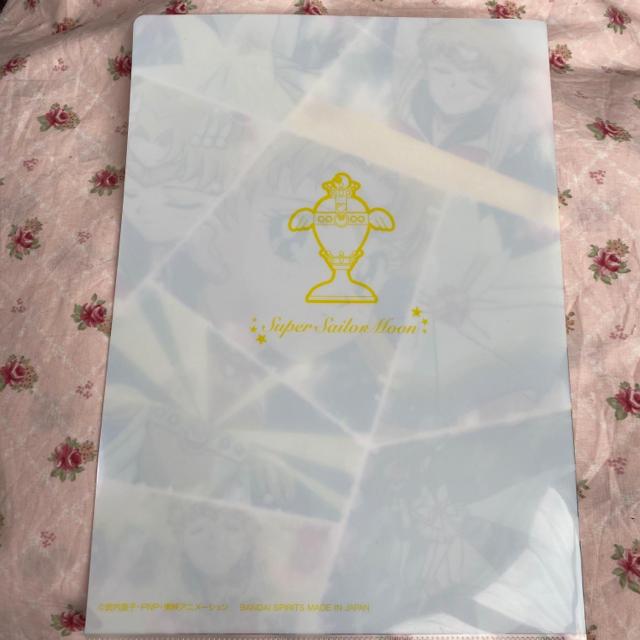 セーラームーン(セーラームーン)のセーラームーンクリアファイル エンタメ/ホビーのアニメグッズ(クリアファイル)の商品写真