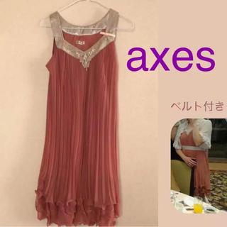 アクシーズファム(axes femme)のaxes パーティドレス Mサイズ(その他ドレス)