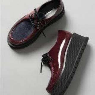 ジーナシス(JEANASIS)のJEANASIS アツゾコチロリアン(ローファー/革靴)