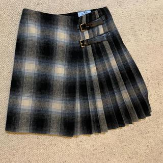 プラダ(PRADA)のPRADA 巻きスカート(ひざ丈スカート)