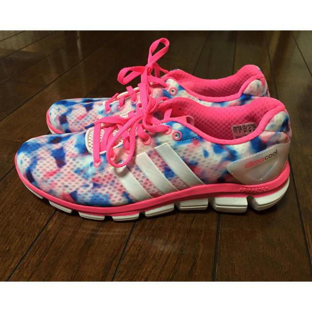adidas(アディダス)のadidas climacool ピンク レディースの靴/シューズ(スニーカー)の商品写真