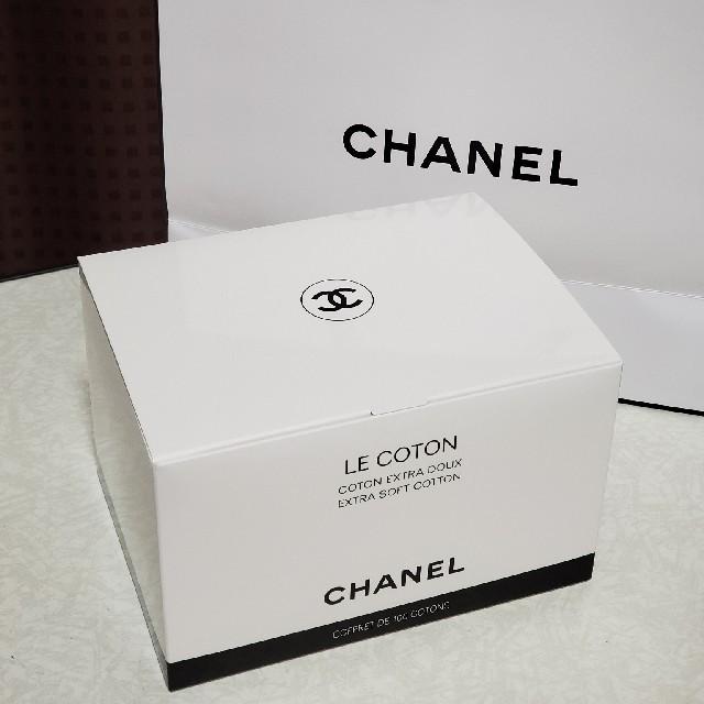 CHANEL(シャネル)のシャネル コットン 99枚 コスメ/美容のメイク道具/ケアグッズ(コットン)の商品写真