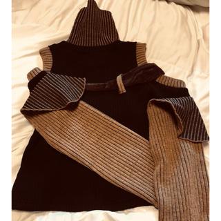 アンユーズド(UNUSED)の今日で掲載終了 特別価格M.Y.O.Bのセーター今だけ値下げ13000→(ニット/セーター)