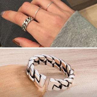 カルバンクライン(Calvin Klein)のシルバーリングS925(リング(指輪))
