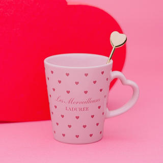 レメルヴェイユーズラデュレ(Les Merveilleuses LADUREE)のレ メルヴェイユーズ ラデュレ マグカップ 非売品 限定 ノベルティ 未使用(マグカップ)