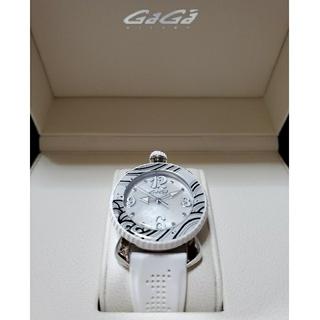 GaGa MILANO - ガガミラノ 時計 レディース 白 ホワイト