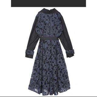 アメリヴィンテージ(Ameri VINTAGE)のAmeri vintage☆ BACK LACE COAT(トレンチコート)