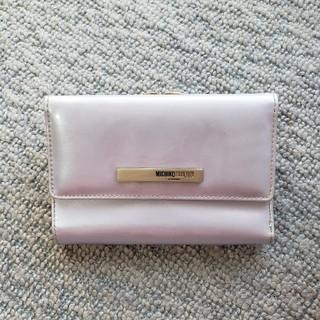 ミチコロンドン(MICHIKO LONDON)のMICHIKO LONDONがま口折り財布(財布)