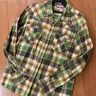 ベドウィン(BEDWIN)のメンズ チェックシャツ ネルシャツ EDWIN レディースも(シャツ)