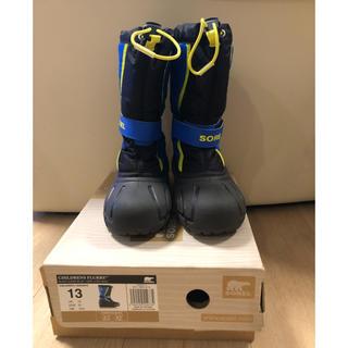 ソレル(SOREL)の殿下様専用 ソレル ブーツ 18 ブラック ブルー(ブーツ)