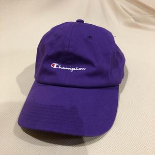 チャンピオン(Champion)のチャンピオン champion キャップ cap 紫(キャップ)