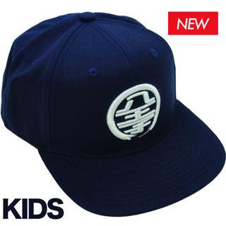 八王子リホーム LOGO CAP(KIDS) NAVY/WHITE 八王子工務店(帽子)