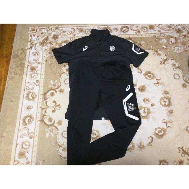 asics(アシックス)のヴィッセル神戸 選手支給 非売品 移動着(本物) スポーツ/アウトドアのサッカー/フットサル(ウェア)の商品写真