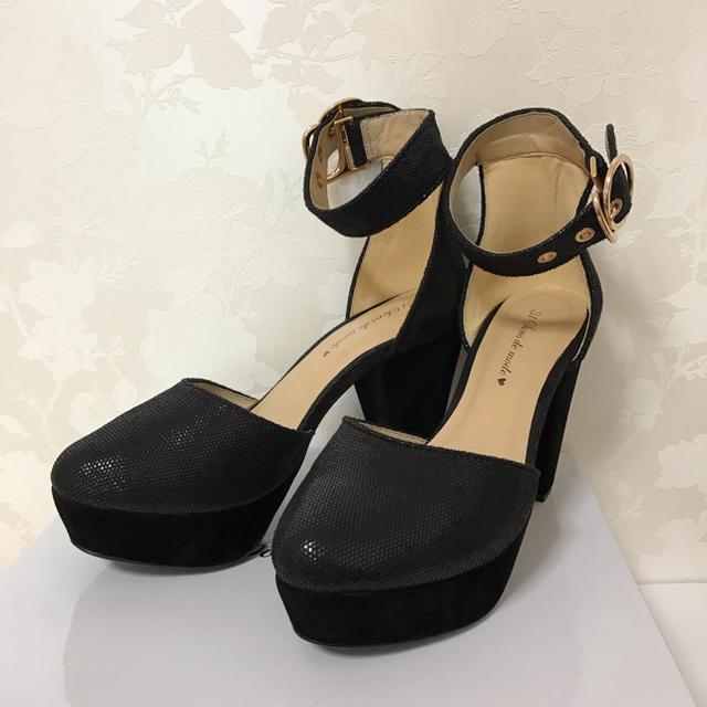 31 Sons de mode(トランテアンソンドゥモード)のアンクルベルトコンビパンプス レディースの靴/シューズ(ハイヒール/パンプス)の商品写真