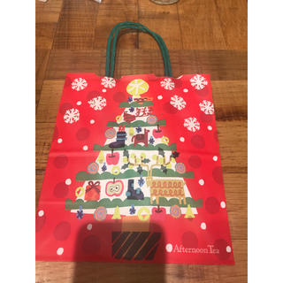 非売品 限定 クリスマス×Afternoon Tea/ショッパー 紙袋