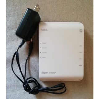 エヌイーシー(NEC)のNEC Aterm WF800HP Wi-Fiルーター(PC周辺機器)