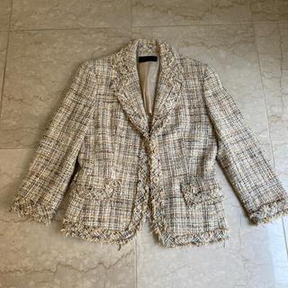 アイシービー(ICB)のジャケット クリームイエロー(テーラードジャケット)