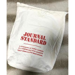 ジャーナルスタンダード(JOURNAL STANDARD)のジャーナルスタンダード ロゴ布バッグ 袋 巾着(その他)