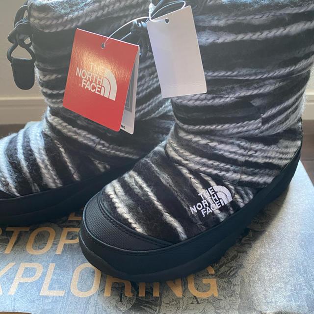 THE NORTH FACE(ザノースフェイス)のノースフェイスキッズブーツ21センチ キッズ/ベビー/マタニティのキッズ靴/シューズ(15cm~)(ブーツ)の商品写真