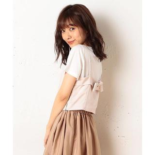 ミーア(MIIA)の2点セット☆(Tシャツ(半袖/袖なし))