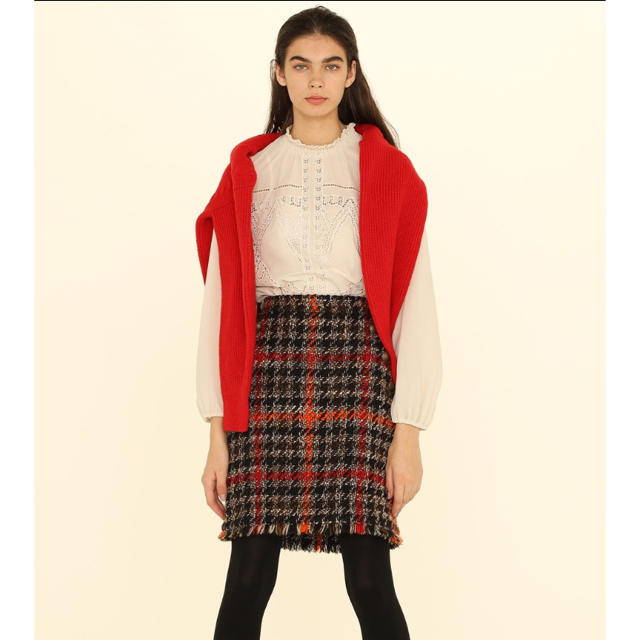 GRACE CONTINENTAL(グレースコンチネンタル)の今季完売♡グレースコンチネンタル ツイードスカート レディースのスカート(ミニスカート)の商品写真