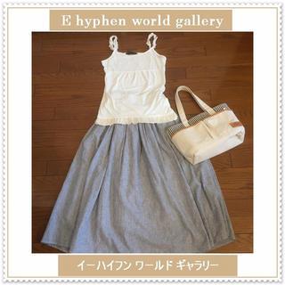 E hyphen world gallery - 未使用に近い♡イーハイフンワールドギャラリー♡フリル キャミソール