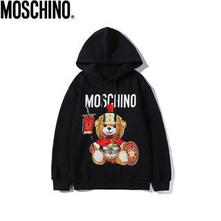 モスキーノ(MOSCHINO)のtakuya様 専用【黒のXXL+黒XXL】(パーカー)