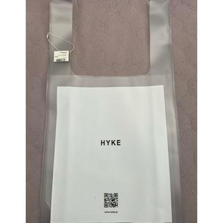 ハイク(HYKE)の最終値下げHYKE PVCトートバッグ 完全未使用(トートバッグ)