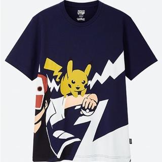 ユニクロ(UNIQLO)のユニクロ tシャツ ポケモン ピカチュウ  (Tシャツ(半袖/袖なし))