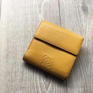 ロエベ(LOEWE)のロエベ ミニ財布 イエロー(財布)