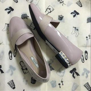 ランダ(RANDA)の新品 RANDA ビジュー ローファー (ローファー/革靴)