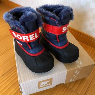 ソレル(SOREL)のSOREL☆ソレル スノーブーツ 13cm 新品同様 防寒 コロンビア(ブーツ)