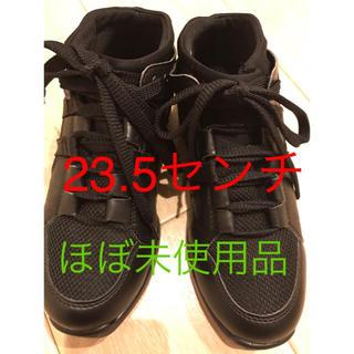 CHACOTT - チャコット★ほぼ未使用 ポワントスニーカー 0006 黒色