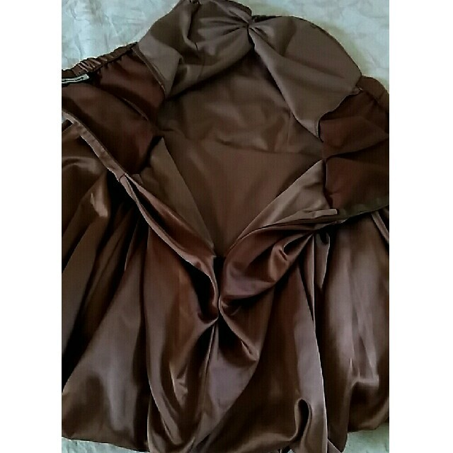 ANAP Latina(アナップラティーナ)のサテンバルーンワンピース レディースのフォーマル/ドレス(ナイトドレス)の商品写真