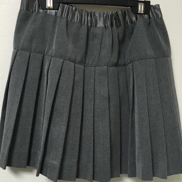 LOWRYS FARM(ローリーズファーム)のローリーズファーム プリーツスカート  ミニスカート グレー  レディースのスカート(ミニスカート)の商品写真