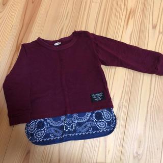 プティマイン(petit main)のプティマイン  ロンT  90(Tシャツ/カットソー)
