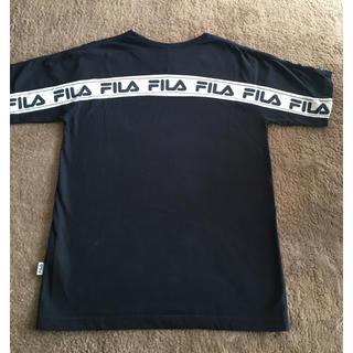 GYDA - GYDA FILA ネイビー Tシャツ
